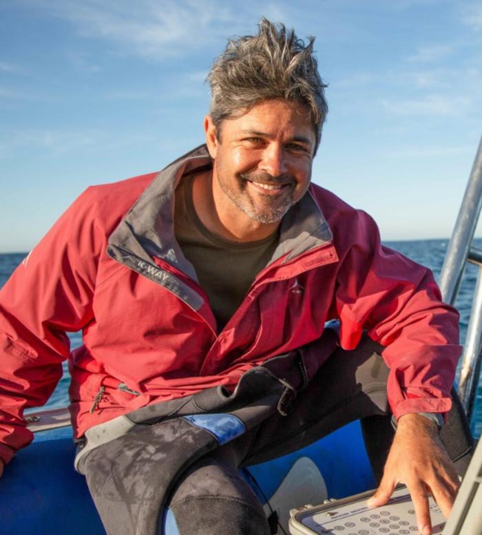 Ryan Johnson, marine biologist