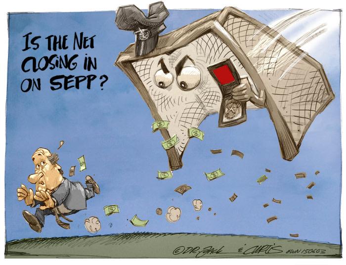The Net Closes In On Sepp Blatter