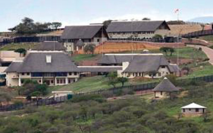 The upgraded Nkandla homestead in KwaZulu-Natal, which allegedly cost more than R200 million to upgrade. Picture: City Press.