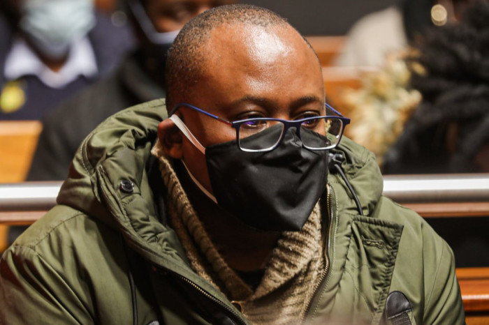 Former VBS CEO Andile Ramavhunga in the Palm Ridge Regional Court on 18 June 2020. Picture: Kayleen Morgan/EWN