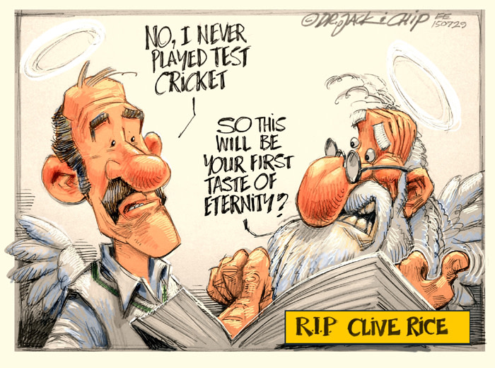 RIP Clive Rice
