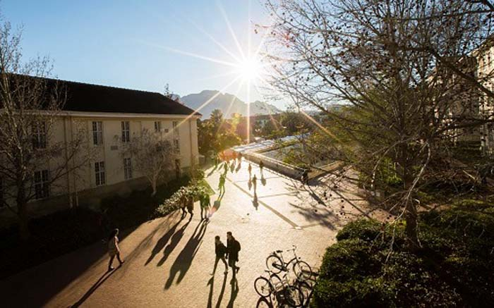 FILE: Stellenbosch University. Picture: @stellenboschuniversity/Facebook.com.