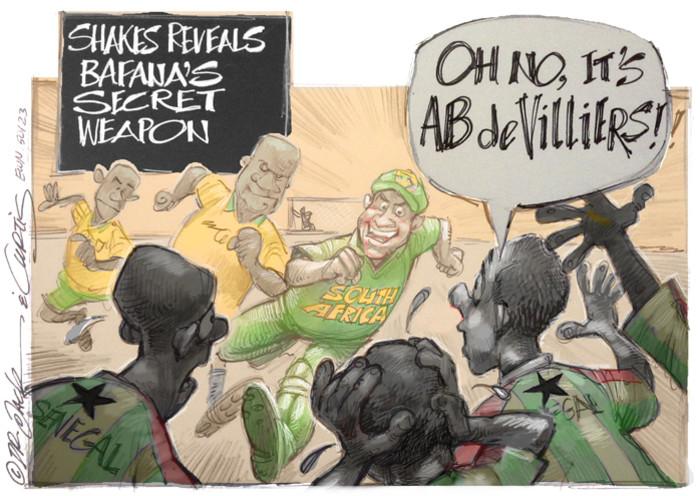 Bafana's secret weapon