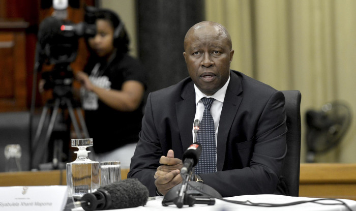 Advocate Siyabulela Xhanti Mapoma during the interviews for the National Director of Public Prosecutions (NDPP) at the Union Buildings. Picture: Oupa Mokoena/African News Agency (ANA/Pool)
