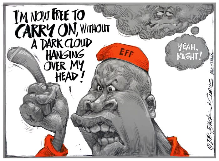 CARTOON: Malema Under A Cloud