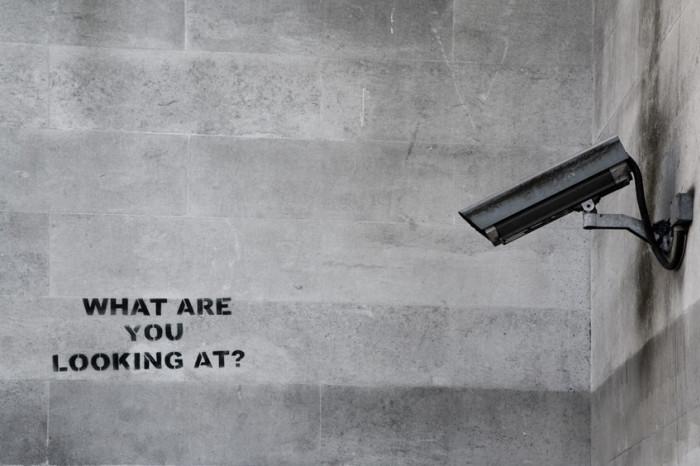 CCTV graffiti (Banksy)