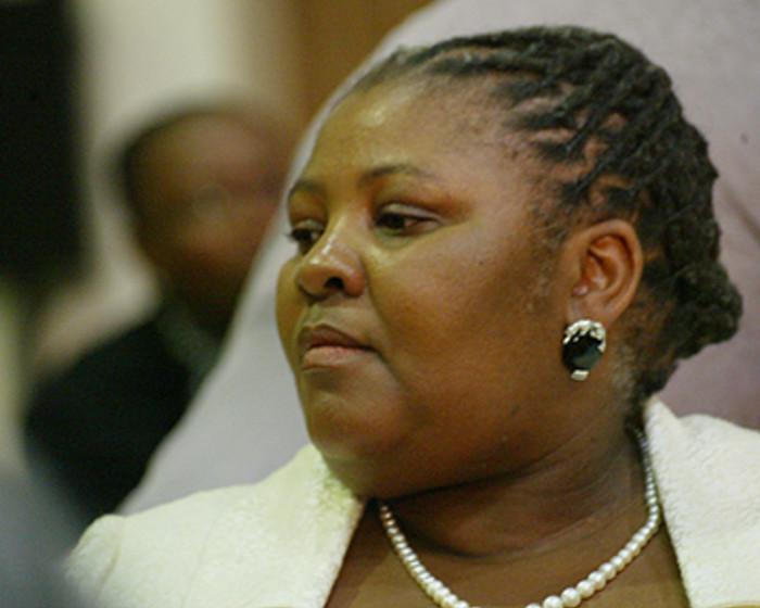 Nosiviwe Mapisa-Nqakula. Picture: Taurai Maduna/Eyewitness News