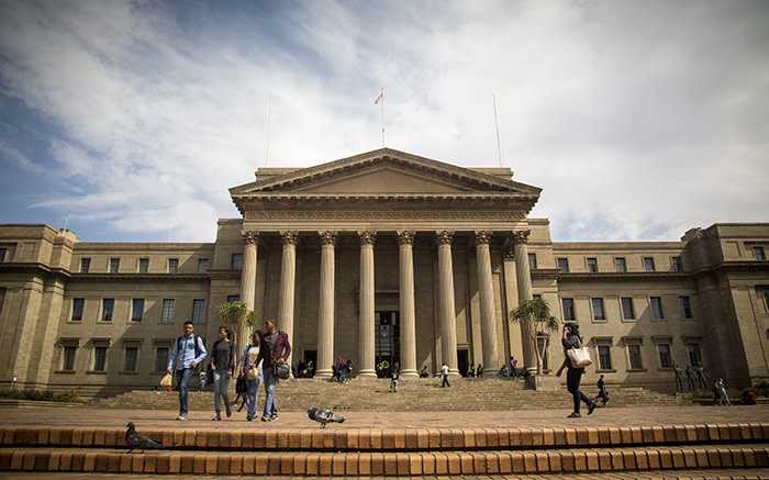 Wits University Senate House. Picture: Thomas Holder/EWN