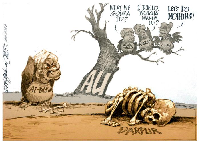 Darfur: Omar al-Bashir vs African Union