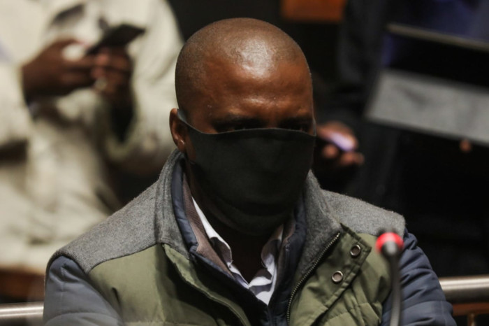 Former PIC head of legal and VBS heist accused Ernest Nesane in the Palm Ridge Regional Court on 18 June 2020. Picture: Kayleen Morgan/EWN