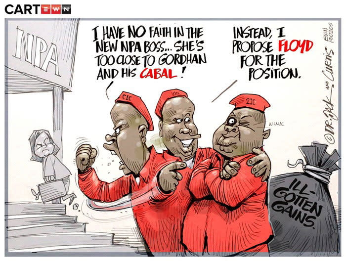 [CARTOON] Two-Faced Malema