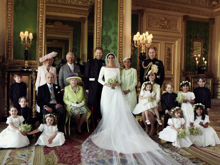 Prince Harry wed US actress Meghan Markle on 19 May 2018. Picture: Alexi Lubomirski/@KensingtonRoyal/Twitter