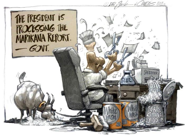 Zuma's load shedding