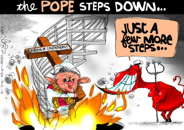 Jerm on the Pope's resignation