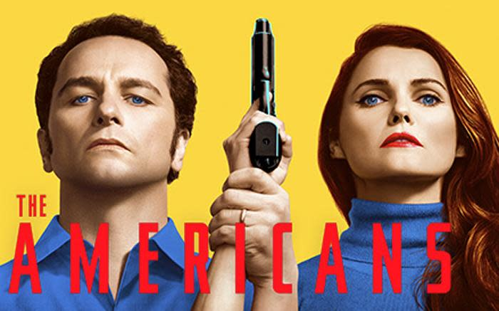 Matthew Rhys and Keri Russell star in 'The Americans'. Picture: FX Networks