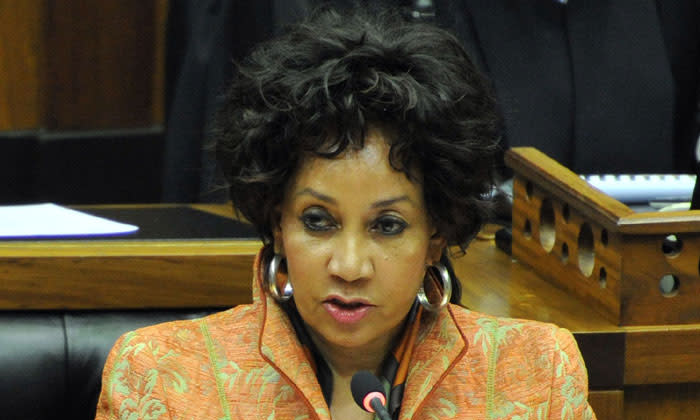 The ANC's Lindiwe Sisulu. Picture: GCIS