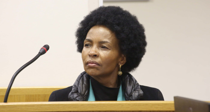 FILE: Maite Nkoana-Mashabane was ordered to appear in court on a contempt of court charge after the government missed a deadline to come up with a proper restitution plan for District Six. Picture: Bertram Malgas