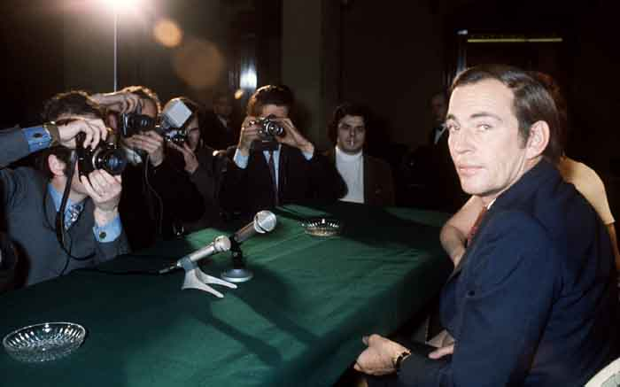 A picture taken in March 1970 in Paris of South African surgeon Christiaan Barnard, who performed the world's first successful human heart transplant operation at the Groote Schuur hospital in Cape Town on 3 December 1967. Picture: AFP.