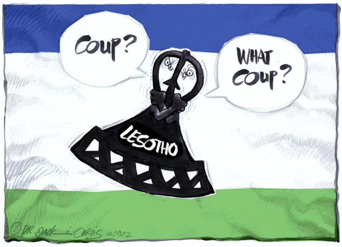 Lesotho - 'The last straw'