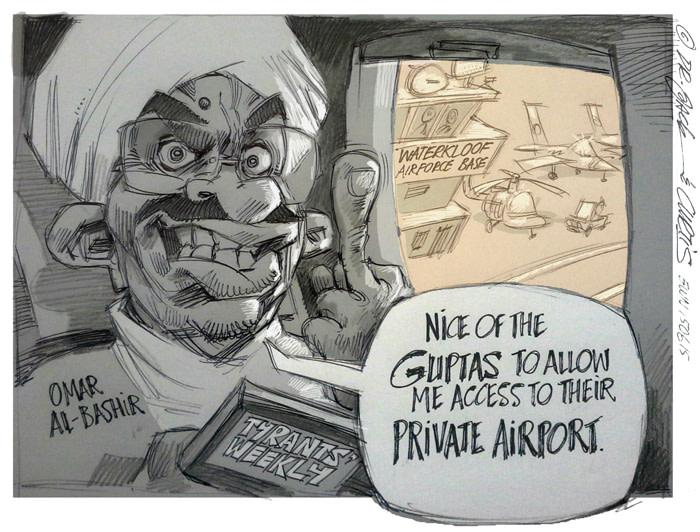 CARTOON: An undiplomatic departure
