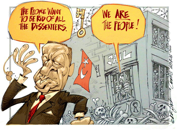 CARTOON: Turkey all 'couped' up