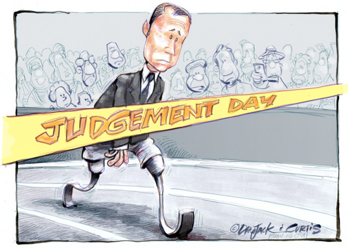 #OscarTrial: Judgment Day