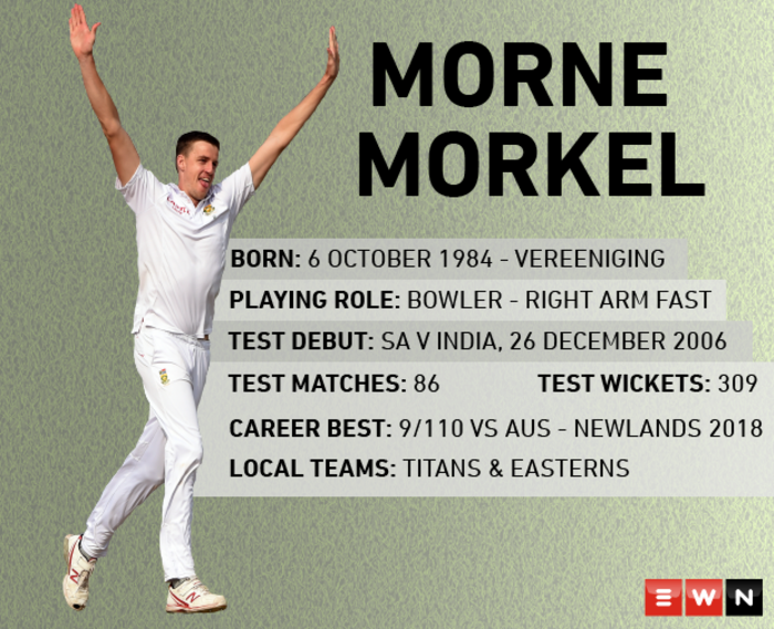 Proteas fast bowler Morne Morkel retires from international cricket. Picture: EWN
