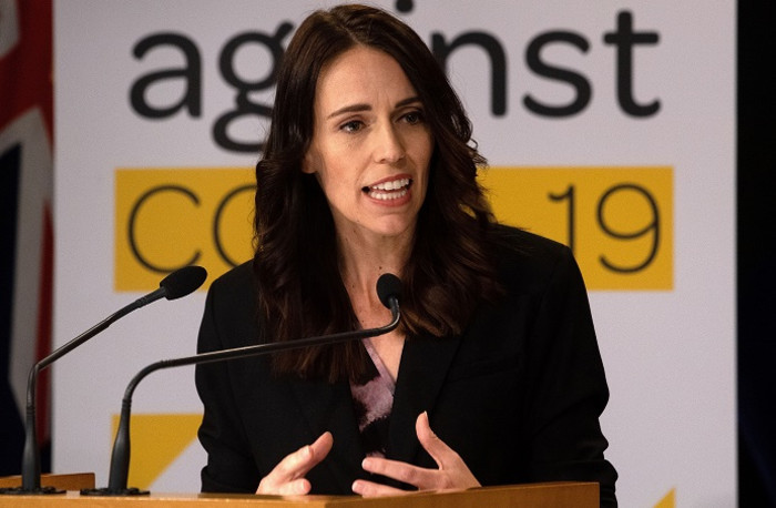 FILE: New Zealand's Prime Minister Jacinda Ardern speaks to the media during a press conference one day before the country goes on lockdown to stop any progress of the COVID-19 coronavirus, at Parliament in Wellington on 24 March 2020. Picture: AFP.