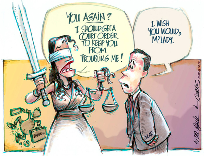 What's next for Lady Justice?