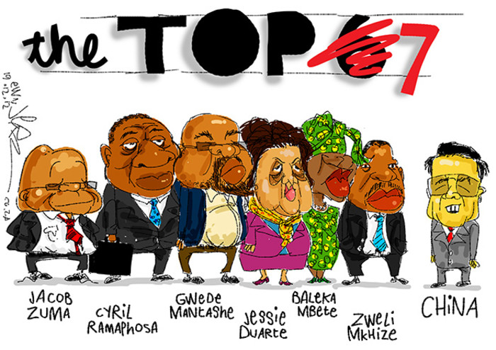 Jerm congratulates the ANC's Top 7