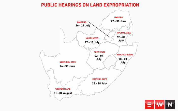 Parliament has finalised a programme for countrywide hearings.