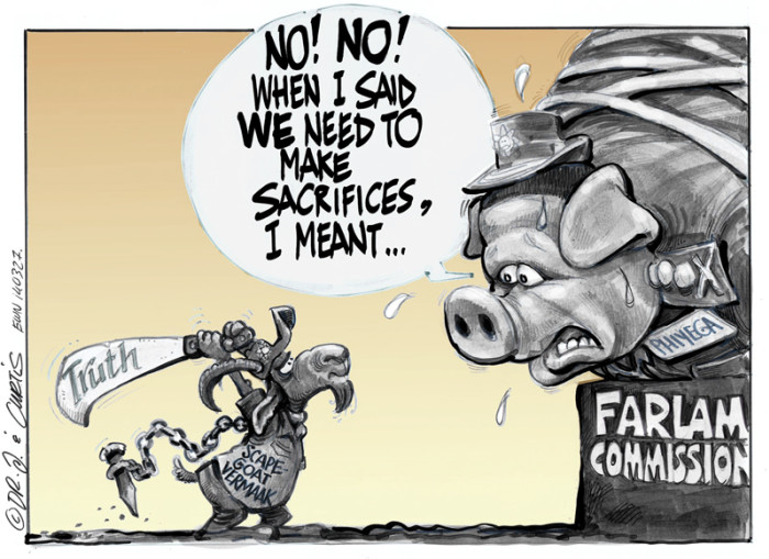 The Marikana Scapegoat...