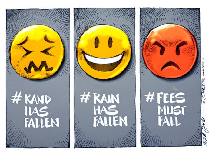 South Africa - an Emoji Rollercoaster