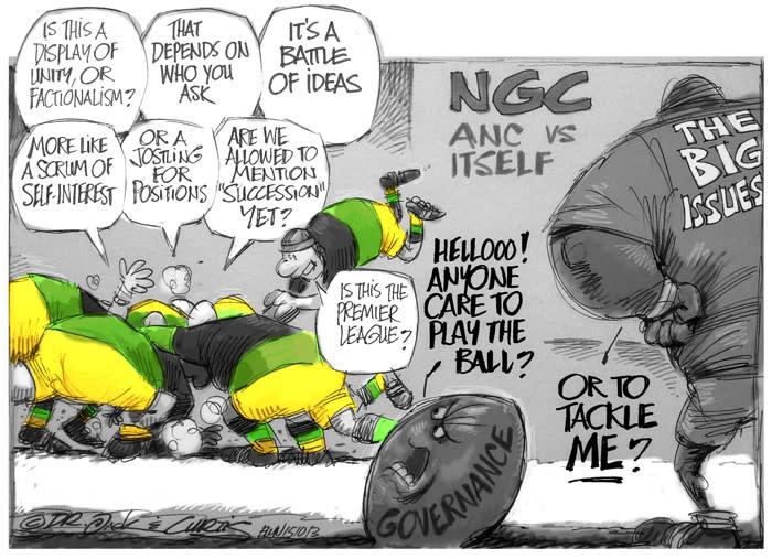 The ANC's Set Piece