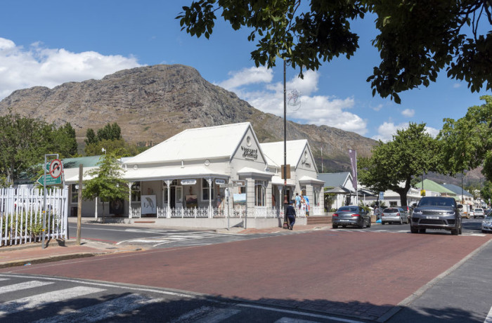 Once prosperous Franschhoek in the Western Cape.