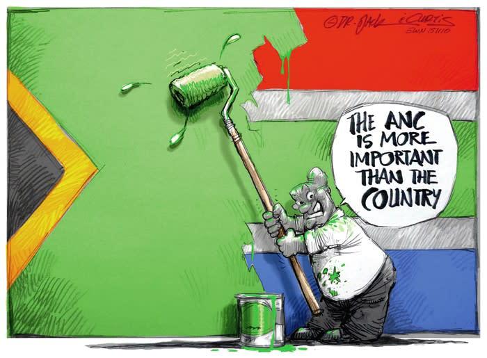 Zuma's True Colours