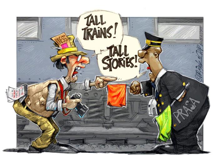 Prasa's Tall Train Stories