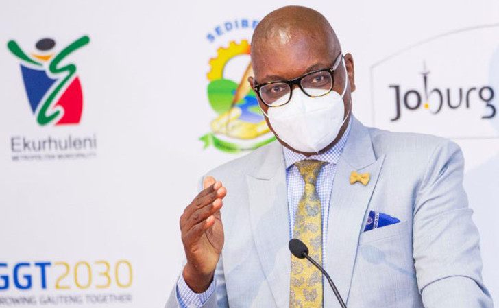 Gauteng's Makhura urges parties to promote vaccination while on campaign trails