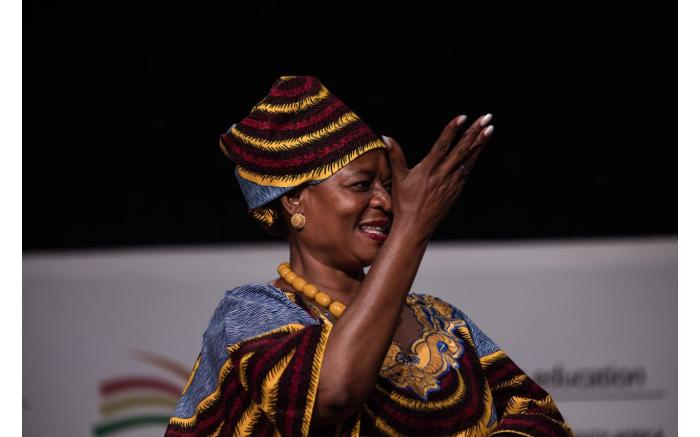 Basic Education Deputy Minister Reginah Mhaule.