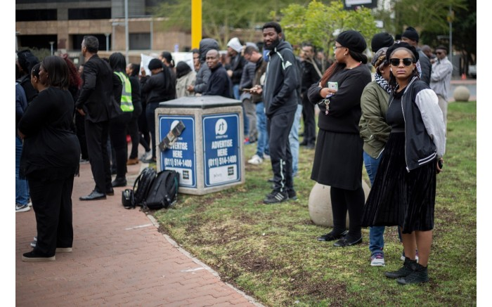 Primedia embarked on a silent protest on Friday, 6 September in Sandton, to highlight the plight of gender-based violence in the country.