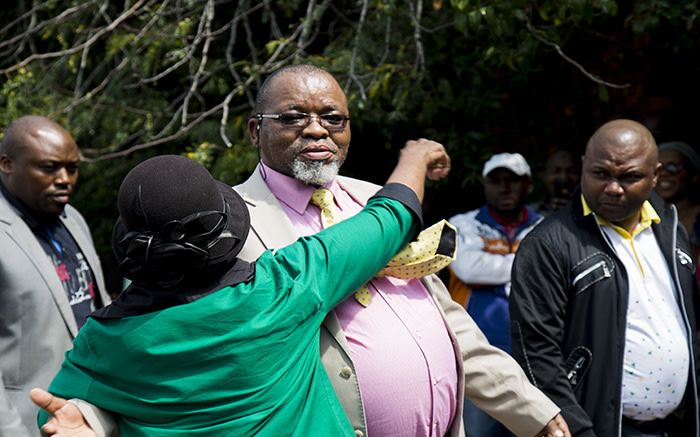 Minister of Mineral Resources, Gwede Mantashe