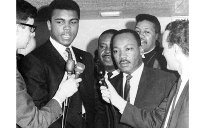 Martin Luther King Senior and Muhammad Ali.