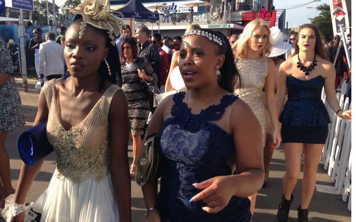 Fashion at the 2015 Durban July. Picture: Vumani Mkhize/EWN.
