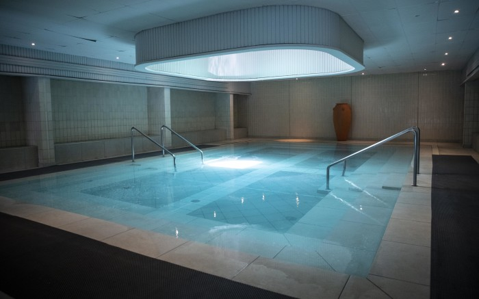 Hydrotherapy pool in the Hydro spa at Warmbaths.