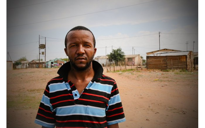 NO VOTE: Sicelo Nyamana says he feels no need to vote, as he has no confidence that any party can deliver. Picture: Thomas Holder/EWN