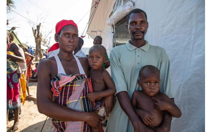 Joaquim Jomnica fled from Buzi with his wife and 10 children after Cyclone Idai destroyed their house. Christa Eybers/EWN