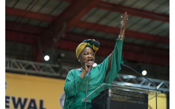 Baleka Mbete during the nominations process at the ANC's national conference on 17 December 2017. Picture: Ihsaan Haffejee/EWN.
