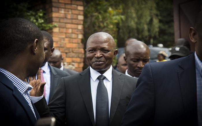 South African deputy president David Mabuza