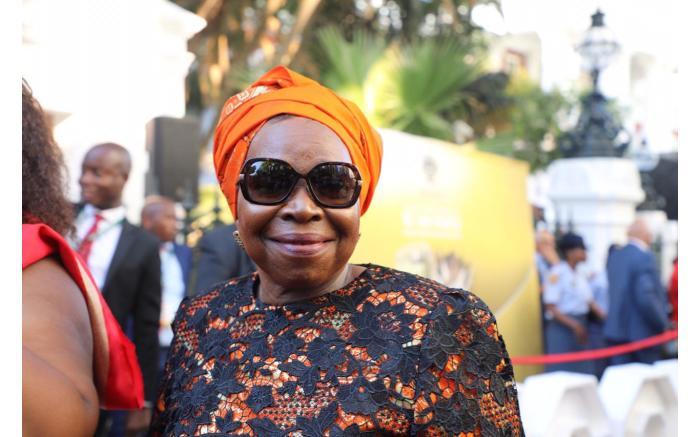Minister of Cooperative Governance and Traditional Affairs Nkosazana Dlamini-Zuma. Kayleen Morgan/EWN