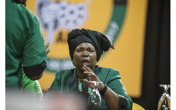 Nkosazana Dlamini Zuma at the start of the ANC's 54th national conference on 16 December 2017. Picture: Ihsaan Haffejee/EWN